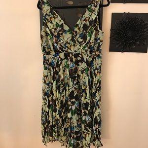Multicolor summer dress.